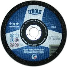 Tyrolit 4 Quot X1 8x5 8 Quot Metal Grinding Wheel Type 27 25 Box